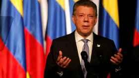 El presidente, Juan Manuel Santos, se ha visto salpicado por el escándalo.