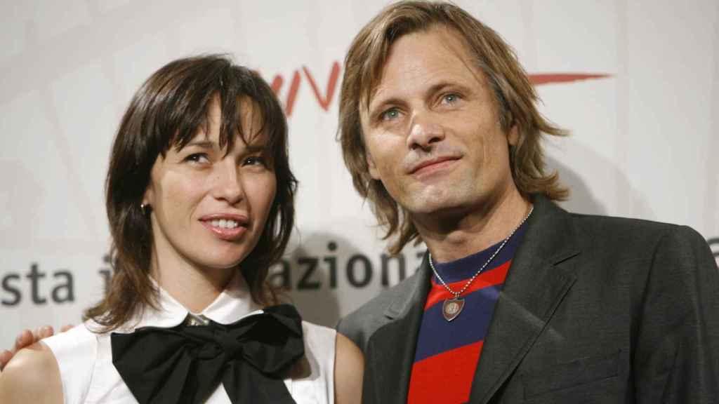 Ariadna Gil y el actor Viggo Mortensen.