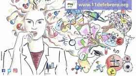 mujer-y-nina-en-la-ciencia-cartel-11febrero