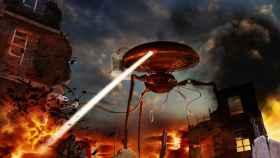Decorado del musical 'La guerra de los mundos'