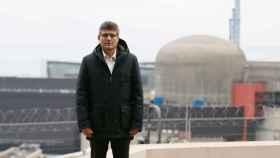 Stephane Brasseur, director de la central, tras la explosión.
