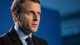 El candidato Macron