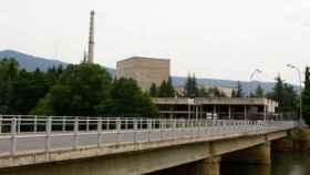 Exterior de la central nuclear de Garoña, en una imagen de archivo.
