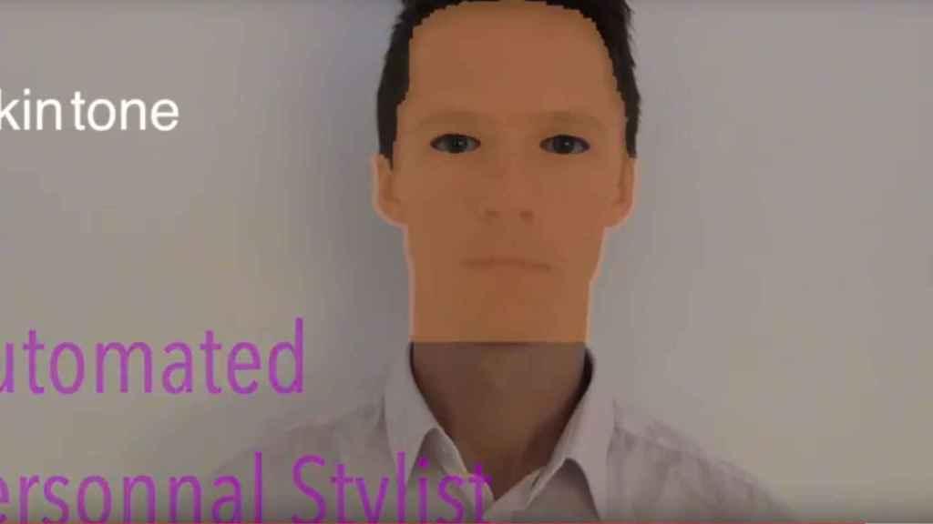 Imagen del probador virtual que determina tus características en función del color de piel, de ojos...