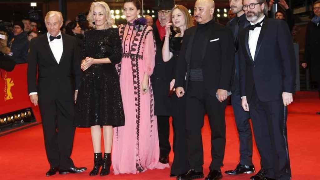 El equipo de la película en la alfombra roja de la Berlinale.