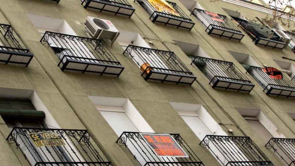 Imagen de archivo de un piso en venta.