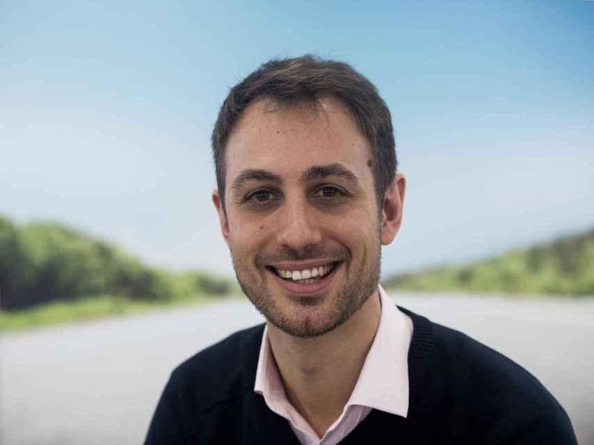Jaime Rodríguez en las oficinas de Blablacar en España.