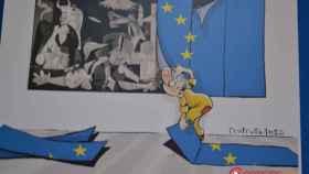 exposicion ilustraciones grecia refugiados valladolid 12