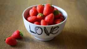 fresas amor