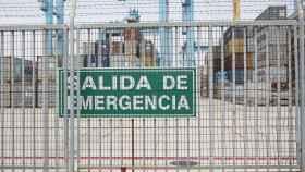 El puerto de Algeciras.