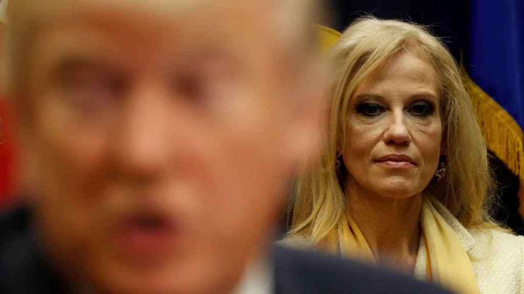 Conway fue jefa de campaña de Trump.