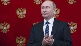 Vladimir Putin en un acto oficial reciente.