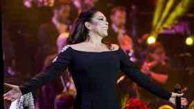 Isabel Pantoja, en el concierto celebrado este sábado.