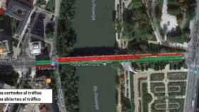Corte poniente puente carril bici valladolid 400x174