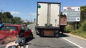accidente camion coche san agustin 1