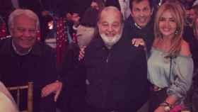 La gran fiesta mexicana de Felipe González, Carlos Slim, Pedro Trapote y El Juli
