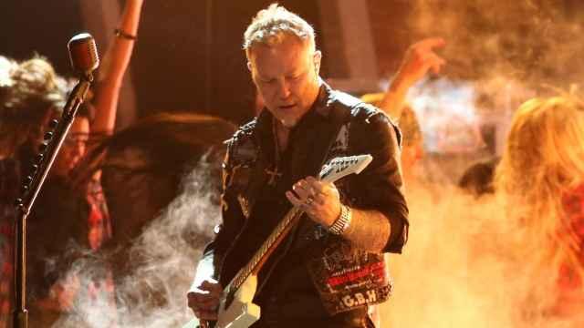 James Hetfield de Metallica