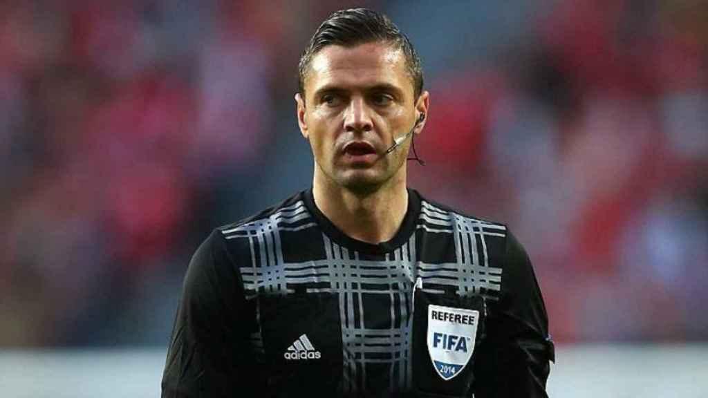 Skomina es el elegido para arbitrar el Real Madrid - Nápoles