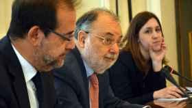 El vicepresidente del Tribunal Supremo, Ángel Juanes, durante la presentación