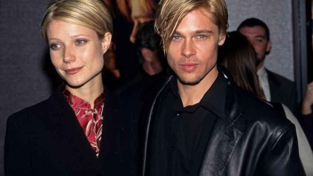 Gwyneth Paltrow y Brad Pitt coincidieron en el rodaje de Seven