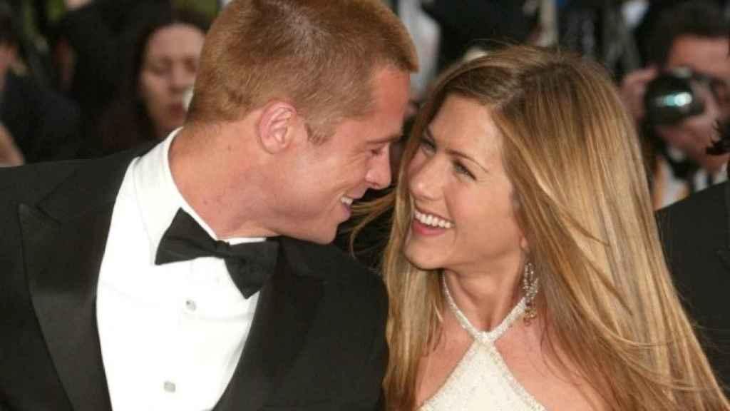 Brad Pitt y Jennifer Aniston, una de las parejas más mediáticas del Hollywood reciente