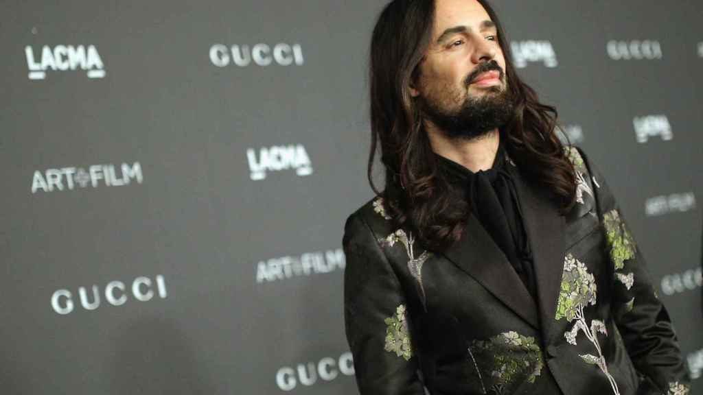 Alessandro Michel, director creativo de Gucci. / Foto: Getty