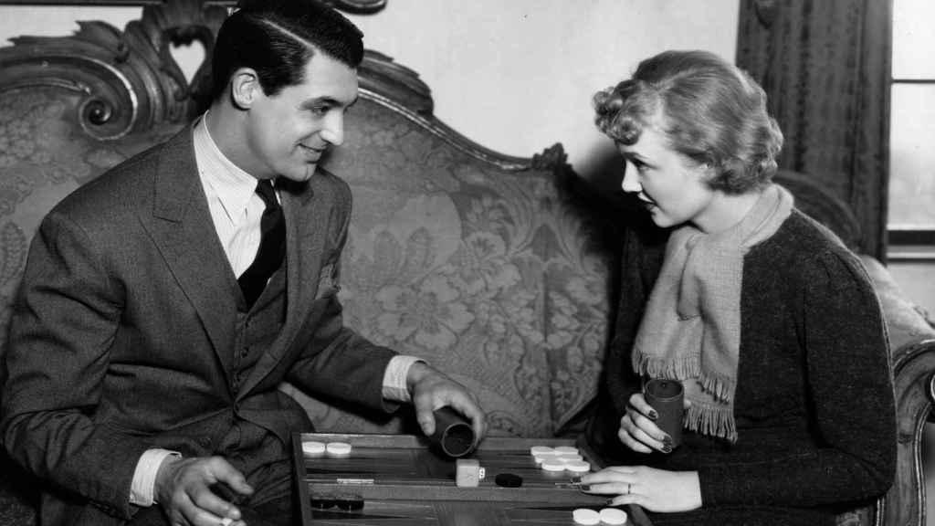 Cary Grant y Virginia Cherrillen Hollywood   Foto: Getty.