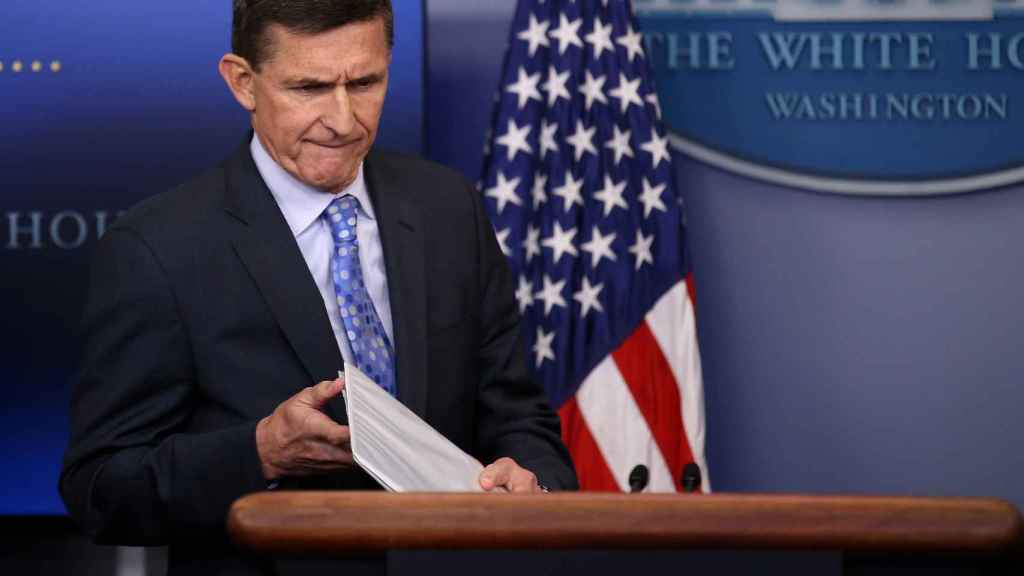 El ex asesor de Seguridad Nacional de Trump Michael Flynn.