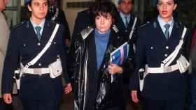 Patrizia Reggiani Martinelli, quien fuera esposa de Maurizio Gucci, durante el juicio celebrado en 1998