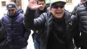 Maradona acumula varias denuncias por su comportamiento agresivo.