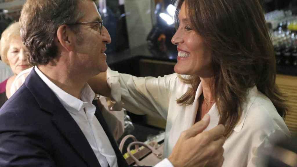 Alberto Nuñez Feijoó y Eva Cárdenas