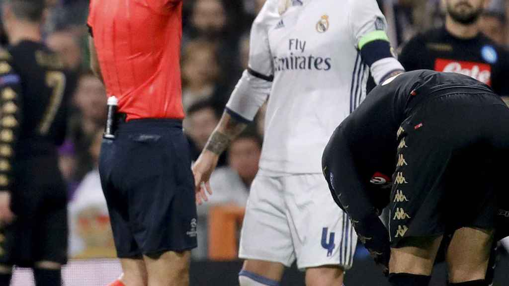 REAL MADRID - NAPOLES