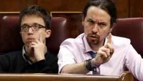 Iglesias este miércoles en el Congreso.