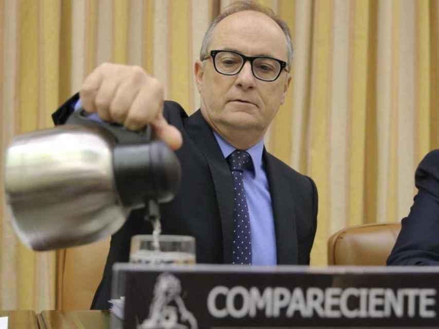 Fernando Restoy en una comparecencia en el Congreso.