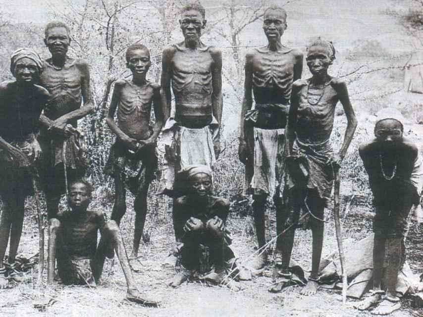 Supervivientes al genocidio Herero.