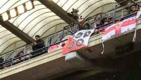 4.000 euros de multa por la pancarta de apoyo al compañero de manada del 'Prenda'