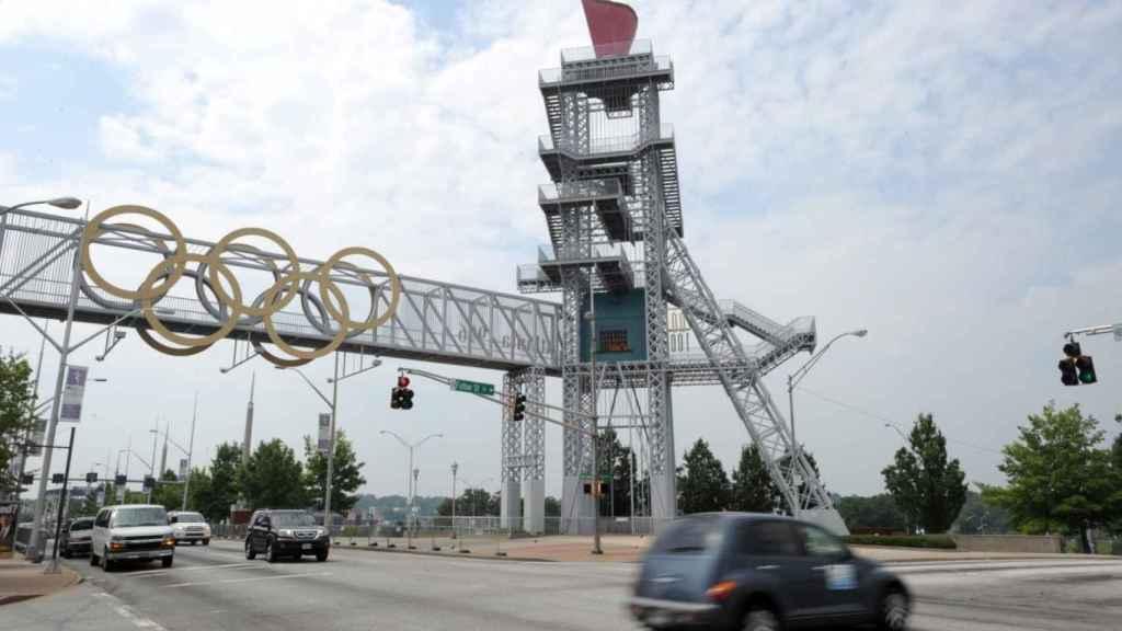 Pebetero olímpico de Atlanta 96.