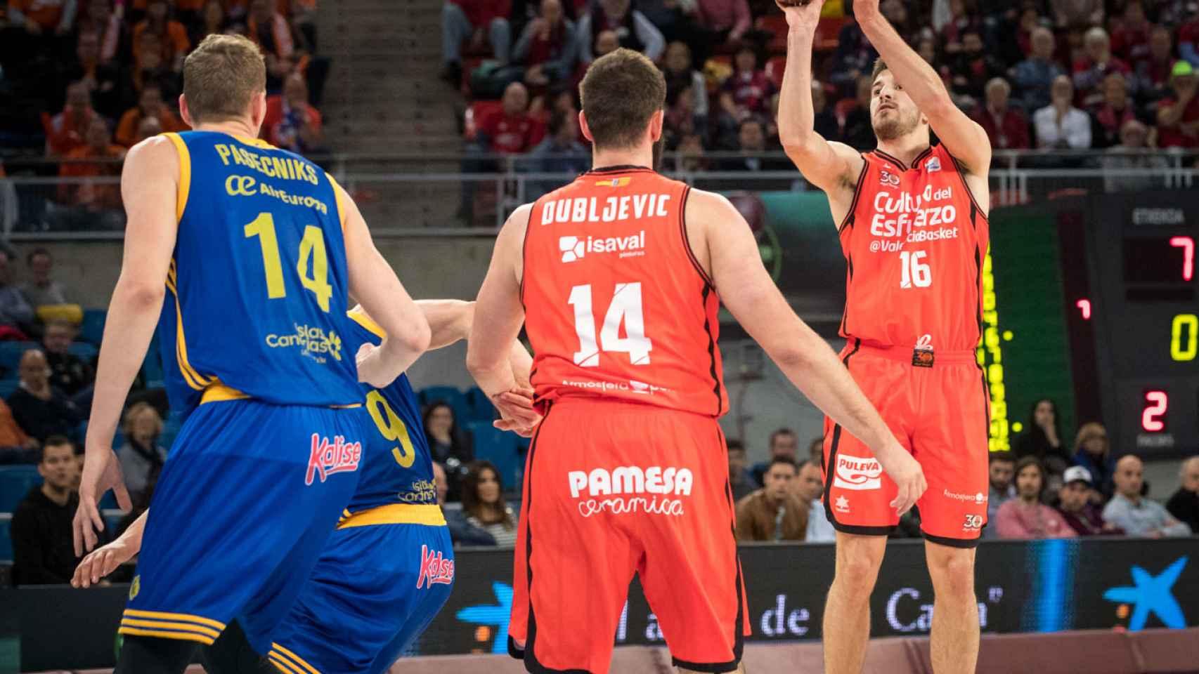 Las mejores imágenes del Valencia Basket - Gran Canaria de la Copa del Rey