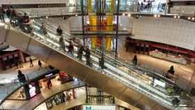 Un centro comercial de Barcelona.