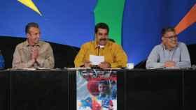 Maduro, durante un acto en Caracas.