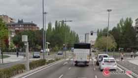 accidente avenida salamanca jose luis arrese valladolid 1