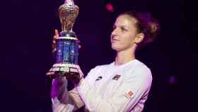 Pliskova levanta su segundo título de la temporada en Doha.