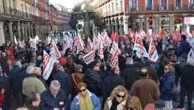concentracion sindicatos valladolid salario digno 5