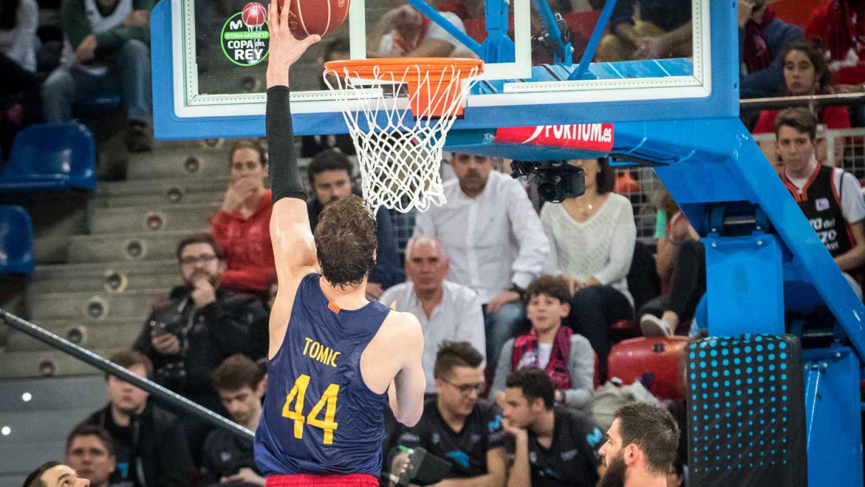 Las mejores imágenes del Valencia Basket - Barcelona de Copa del Rey