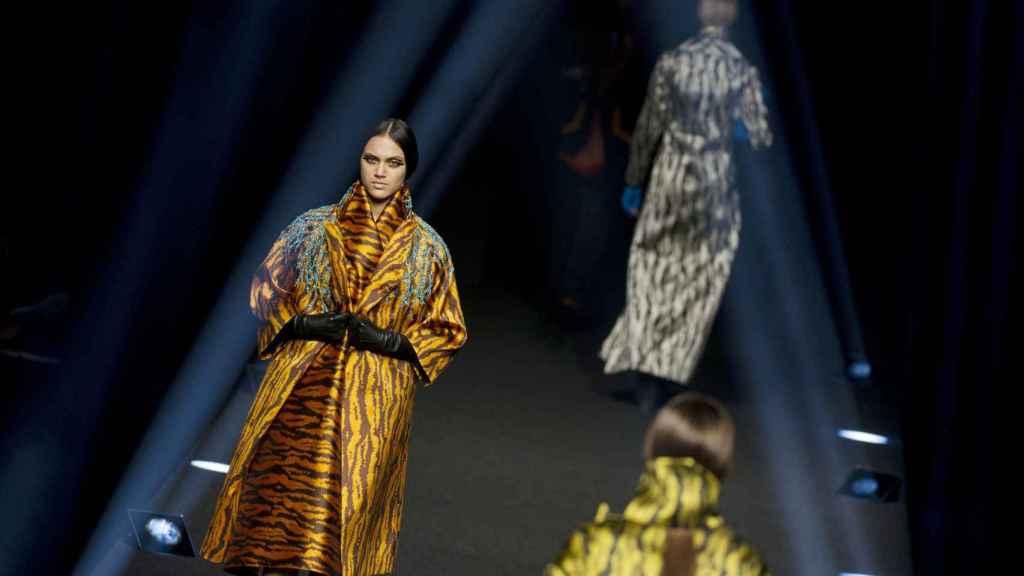 Alvarno FW17, Mercedes Benz Fashion Week Madrid   Foto: Getty Images.