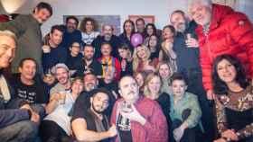 El cumpleaños que unió a Almodóvar, Manuel Banderas, Anabel Alonso o Javier Cámara