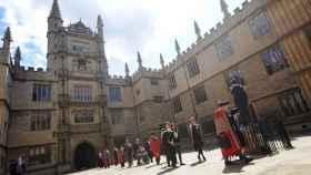 Patio de la Biblioteca Bodleian de la Universidad de Oxford en una imagen de archivo.