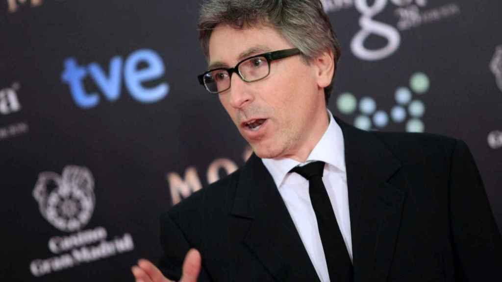 David Trueba en la gala de los Goya.