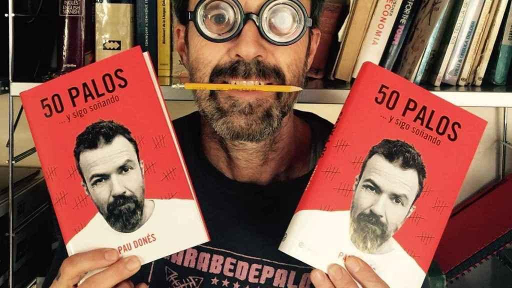 Pau Donés el día que aunció en sus redes la publicación de su libro.