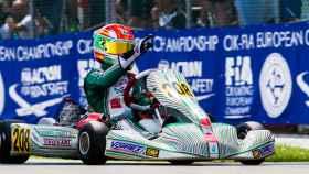 David Vidales, en el circuito de Adria (Italia).